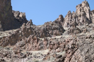 The Owyhee terrain of the famed Leslie Gulch area
