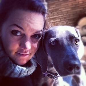 Zelda and Mom--Dec 2012