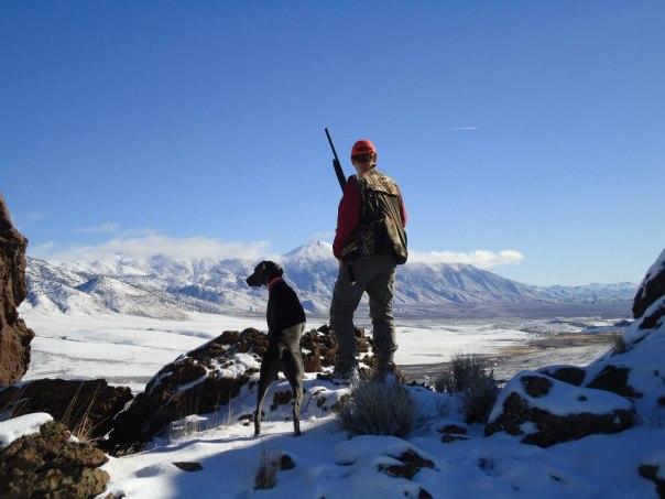 Wader hunting