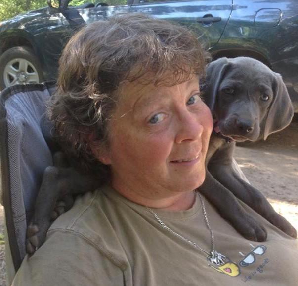 Jean and Skye on shoulder