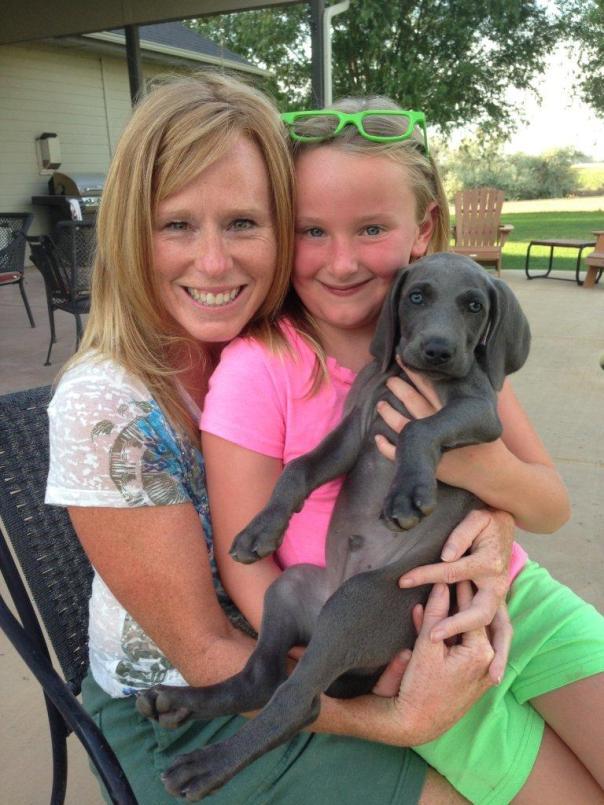 Jill, Elle, and Murphy!
