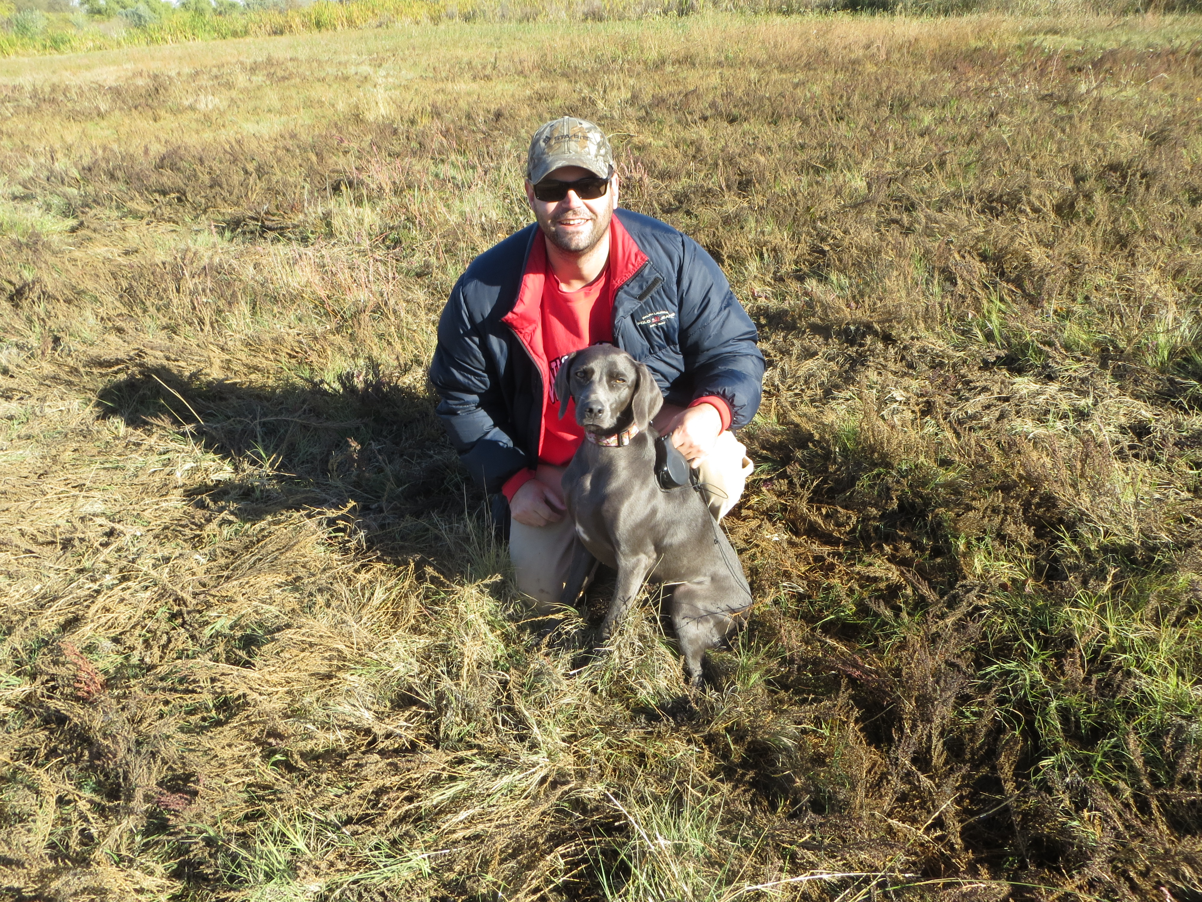 Rodney and Molly (NAVHDA Natural Ability Prize One) October 2013