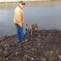 Ray Cooper and Gus at the Canal