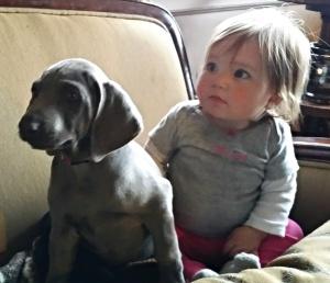Little Miss Alli with Little Miss Jocelyn