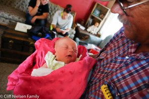 Grandpa and Evangeline meet