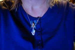 Shela's Guardian Angel Prayer Necklace