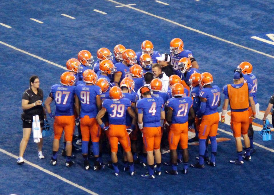 Boise State on the Blue --Photographer Pam Davis