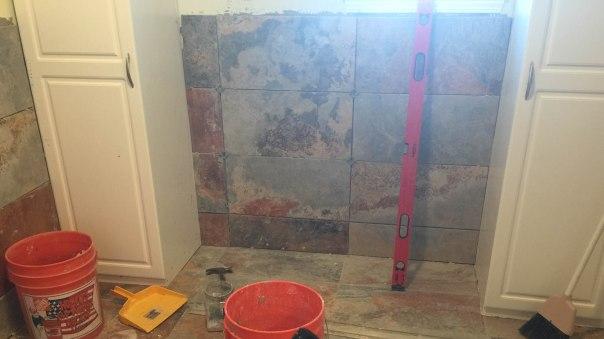Tile in Utility Bath-3