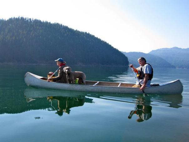Salty canoe