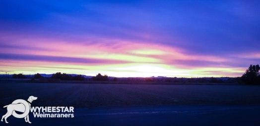 Sunrise October 21 2017